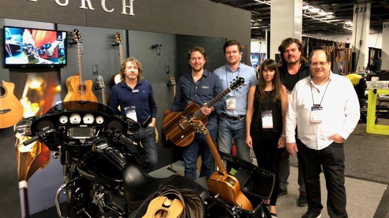 Furch Guitars na top hudebním veletrhu v USA