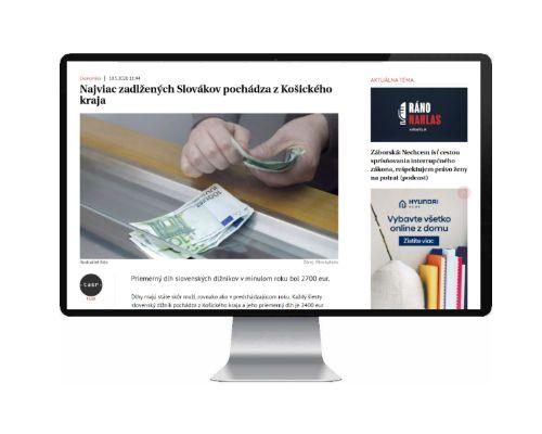 Téma dluhy zaujalo i na Slovensku